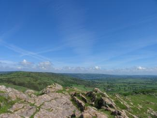 View from Crook Peak, credit Mendip Hills AONB